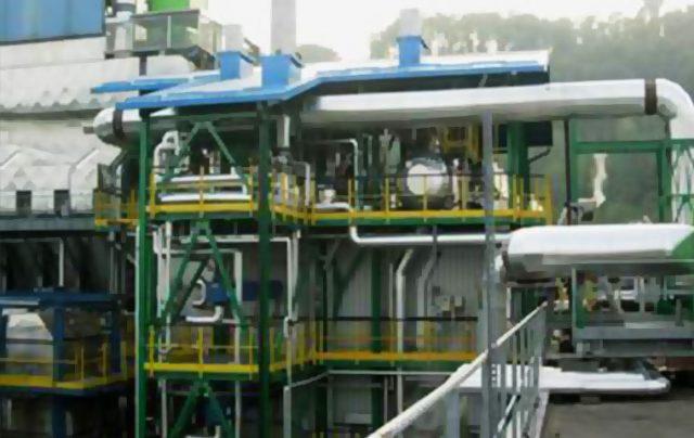 impianti di produzione strutture metalliche